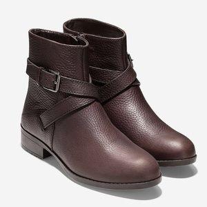 NWT Cole Haan Manda Bootie-Java Leather